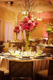 centerpieces for wedding reception vinnie s credit vibrant or summer wedding flower