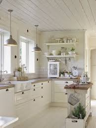 Best  White Farmhouse Kitchens Ideas On Pinterest Farmhouse - Small kitchen white cabinets