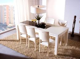 bathroom astounding white contemporary dining table decoration