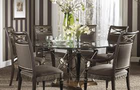 Dining Room  Refreshing Round Dining Table For  Size Acceptable - Round kitchen table sets for 6
