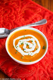 roasted butternut squash cider soup recipe jeanette s healthy living