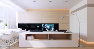 meuble et canape meuble de rangement adossé au canapé