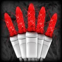 red and white bulb christmas lights led m5 christmas string lights