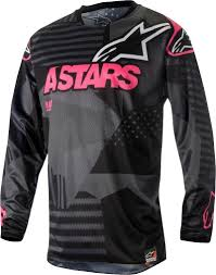 black motocross gear 2018 alpinestars racer tactical motocross gear black flo pink