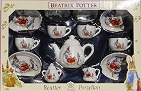 beatrix potter tea set beatrix potter 15 rabbit tea set by