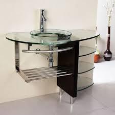 Clear Glass Bathroom Sinks - 36
