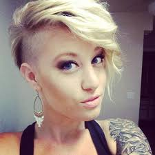 very short pixie hairstyle with saved sides curly pixie haircut with bangs very short hairstyles for women 50