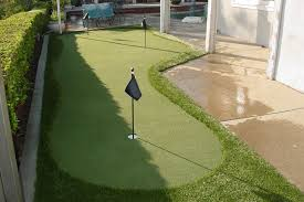 Small Backyard Putting Green Greenway Turf Company Artificial Putting Greens Artificial