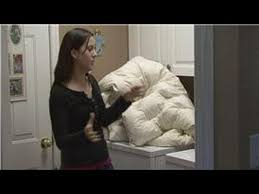 Washing A Down Comforter At Home Housekeeping Instructions How To Wash A Down Comforter Youtube