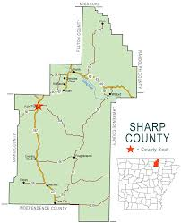 Map Of Colorado Counties by Sharp County Map Encyclopedia Of Arkansas