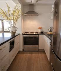 blue endeavor kitchen cabinets how we designed our small u shaped kitchen reveal day