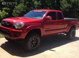 2013 toyota tacoma black rims wheel offset 2013 toyota tacoma aggressive 1 outside fender