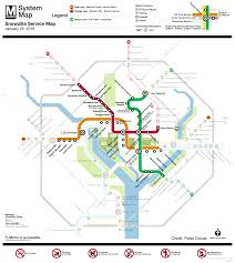 Metro Rail Map by Washington Dc Metrorail Snow Service Monday 25th Transit Maps