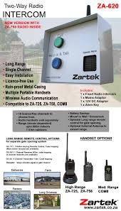 zartek south africa intercoms
