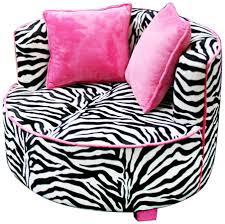 30 collection kids sofa chair and ottoman set zebra