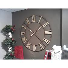 very large wrought iron clock pc home accessories in preston