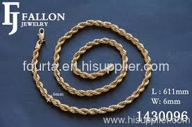 golden rope necklace images Men rope necklace from china manufacturer yi wu future jewelry jpg