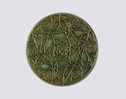 Celtic Garden Decor St Patricks Day Gift For Her Celtic Knot Art Green Celtic Star