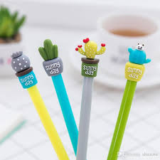 photo album supplies 2018 cactus gel pens set kawaii school supplies office