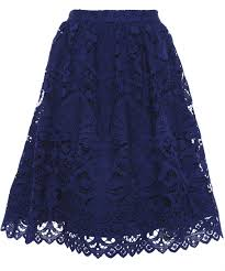 lace skirt and joyce knee length lace skirt jules b