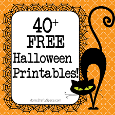 I Love Halloween - 40 free halloween printables happiness is homemade