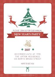 new year invitation new year party invitation template template fotojet