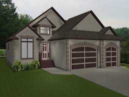 bungalow 2 car garage house plans homes zone