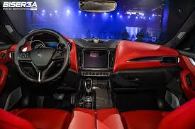 maserati levante interior g a bazerji u0026 sons launches the all new maserati levante suv in
