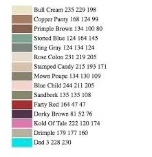funny paint names when artificial intelligence is funny