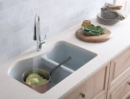 Four Hole Kitchen Faucet by Amazon Kohler Wheatland Kitchen Sink White Color Two Hole Faucet