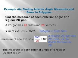 What Is The Interior Angle Of A Regular Decagon Geometry Unit 6 1