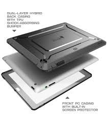 ipad 2 3 4 unicorn beetle pro case with built in screen protector