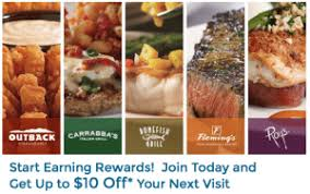 bonefish gift card dine rewards for outback carrabba s bonefish grill fleming s roy s