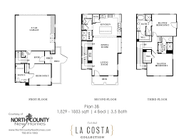 la costa collection floor plan 3b north county new homes new homes for sale in carlsbad at the la costa collection floor plan 3b