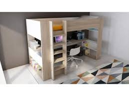 lit superposé avec bureau lit lit superposé avec bureau lit mezzanine et bureau lit