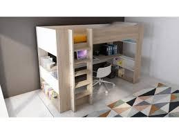 bureau superposé lit lit superposé avec bureau lit mezzanine avec bureau d