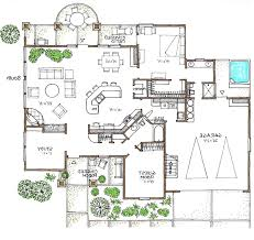 open space house plans mediterranean efficient use of space in this green house plan