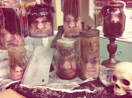 heads in a jar halloween diy by tanya memme as seen on home