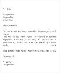 27 resignation letter format free u0026 premium templates