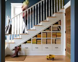 exclusive inspiration under stairs shelves delightful decoration