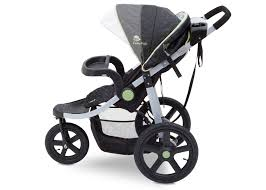 jeep j is for jeep brand adventure all terrain jogger stroller delta