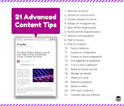 get the most from one blog post 21 advanced content tips