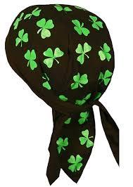 amazon com irish skull cap st patrick u0027s day shamrock clover doo
