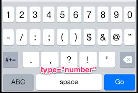 html input pattern alphanumeric iphone ios presenting html 5 keyboard for postal codes stack