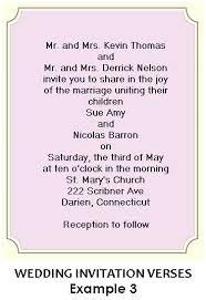 Wedding Invitations Quotes Indian Marriage Wedding Invitations Wording From Bride And Groom Casadebormela Com