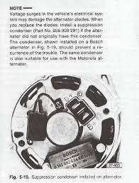 vw golf mk1 alternator wiring diagram wiring diagram and