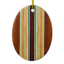 faux wood surfboard ornaments keepsake ornaments zazzle