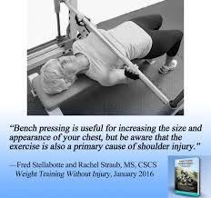 the bench press is a primary cause of shoulder injury