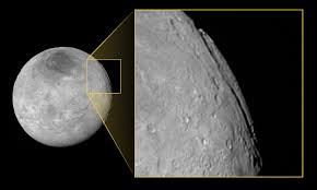 a u0027super grand canyon u0027 on pluto u0027s moon charon nasa