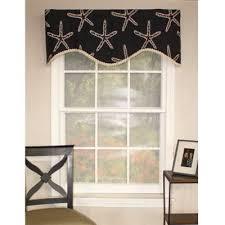 buy black window valances from bed bath u0026 beyond